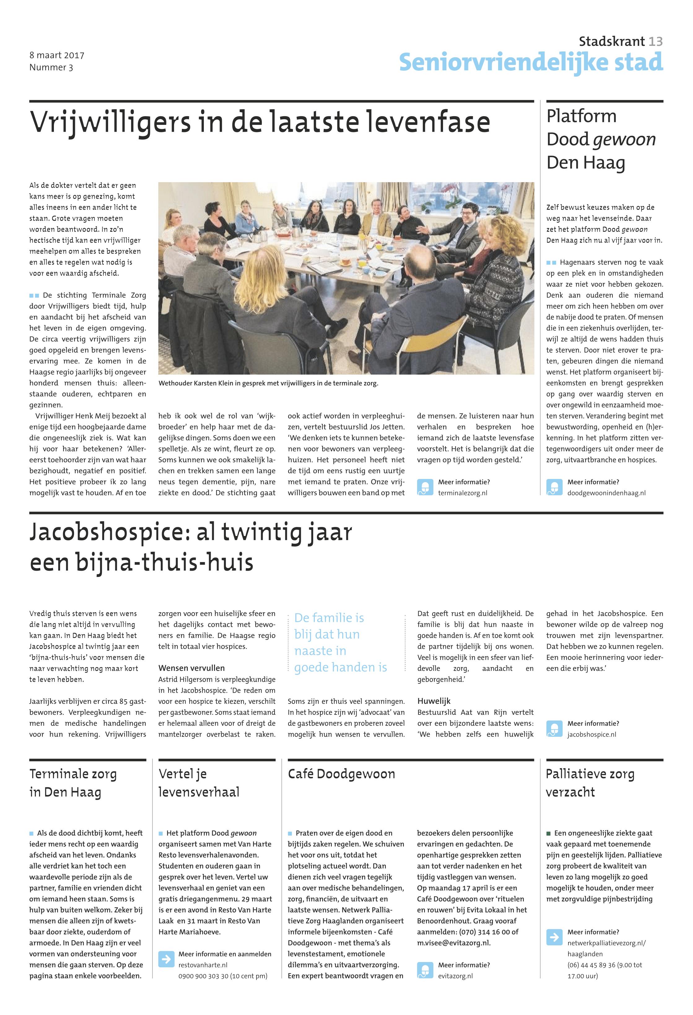 Stadskrant 8 maart 2017