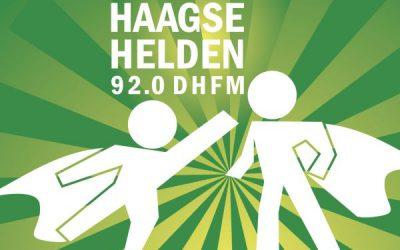 Radio-interview bij Haagse Helden van Den Haag FM