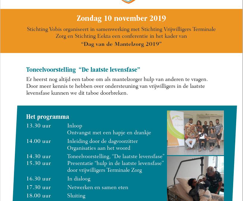 VTZ en Vobis samen op Dag van de Mantelzorger