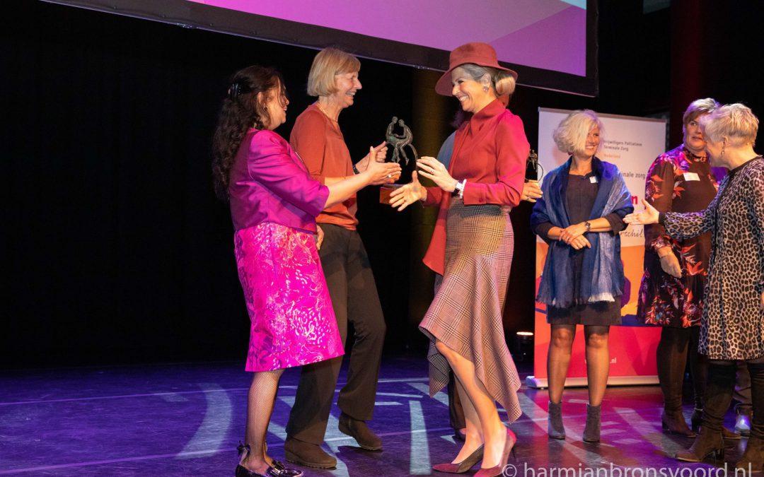 Felicitatie van Koningin Máxima dankzij eerste prijs!